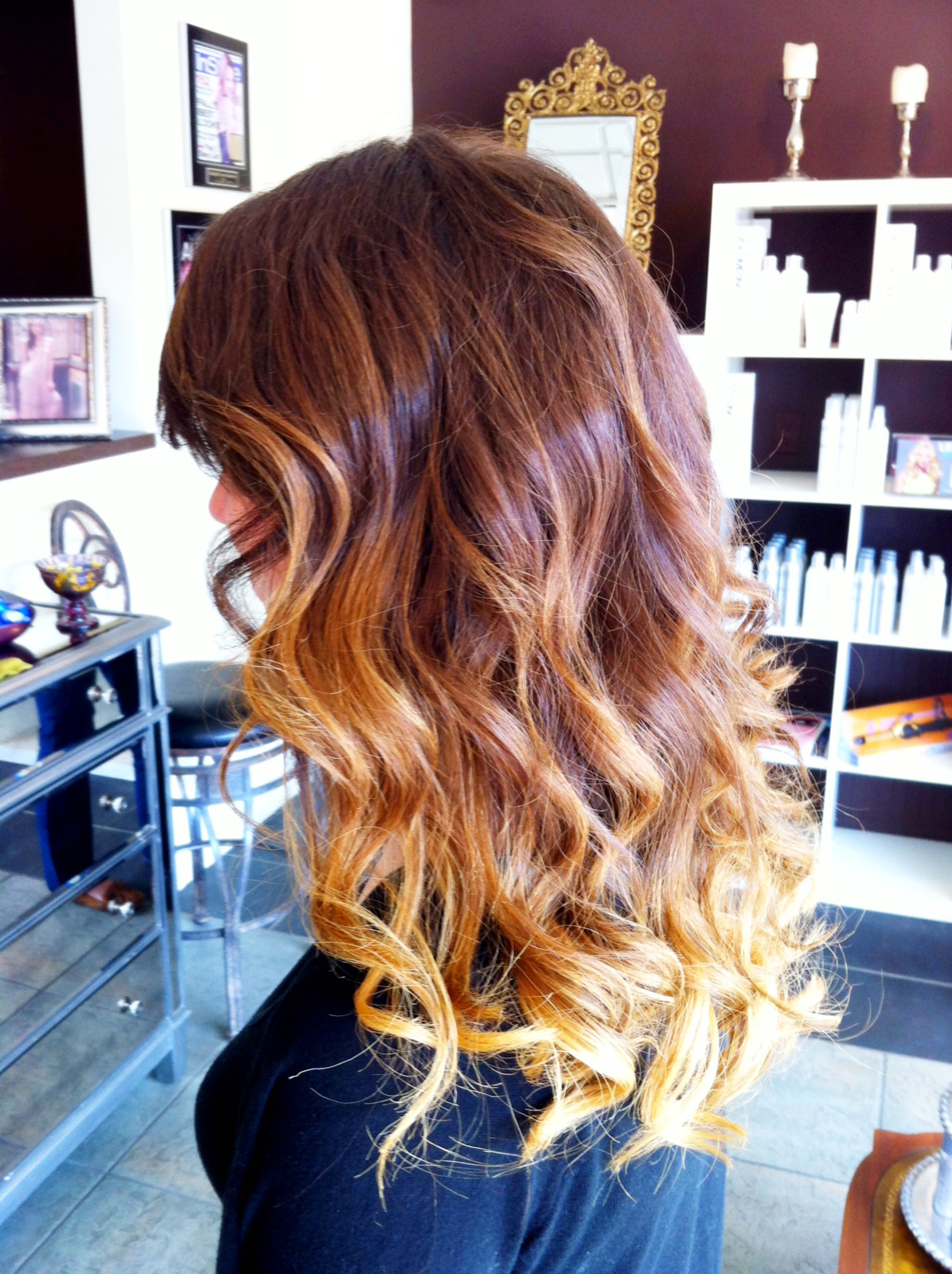 Ombre Hair Color Karu Salon